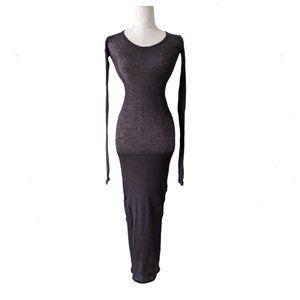 ALLSAINTS Pious Long Sleeve Maxi Dress 6